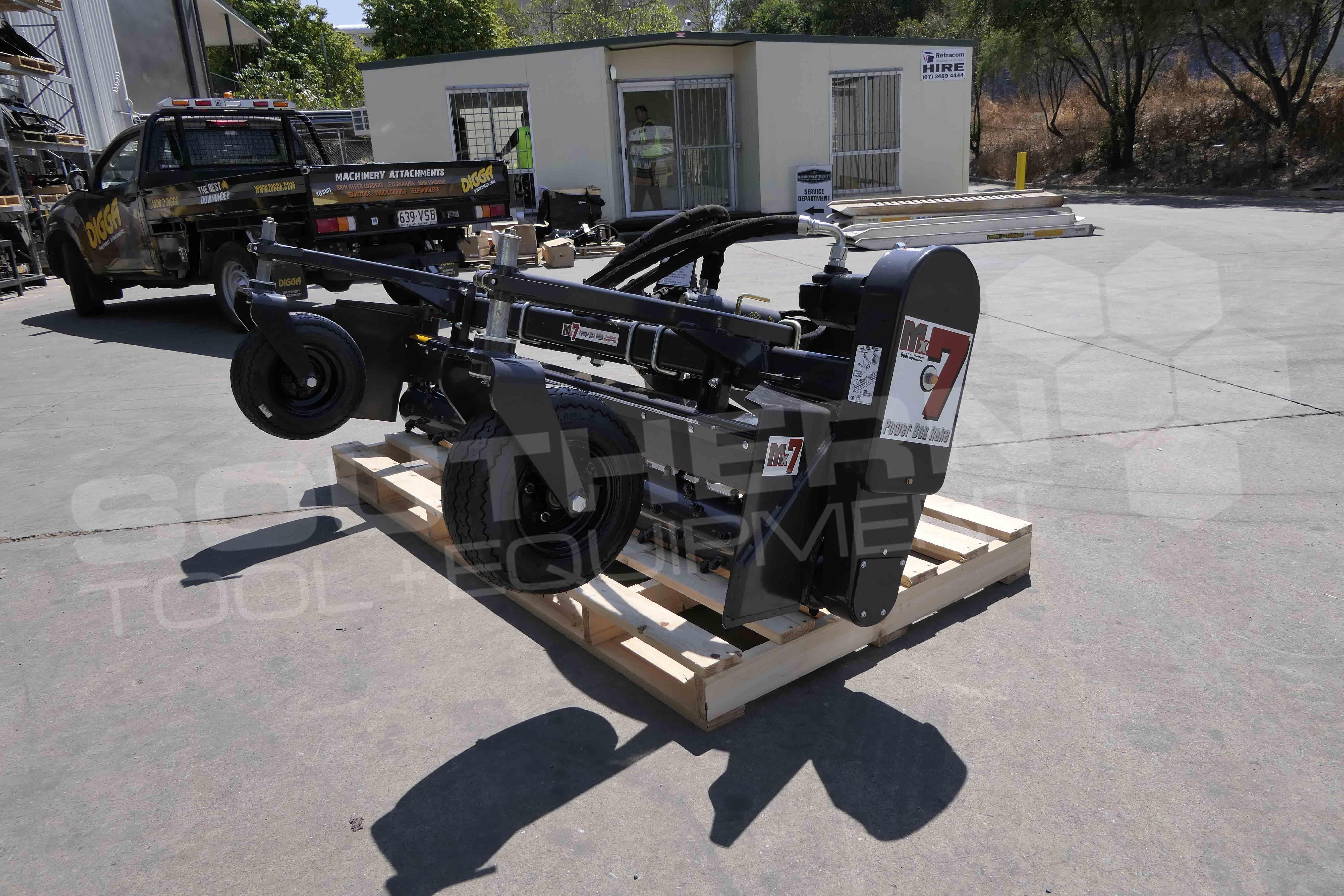 DIGGA M6H 1800mm Skid Steer Harley Rake