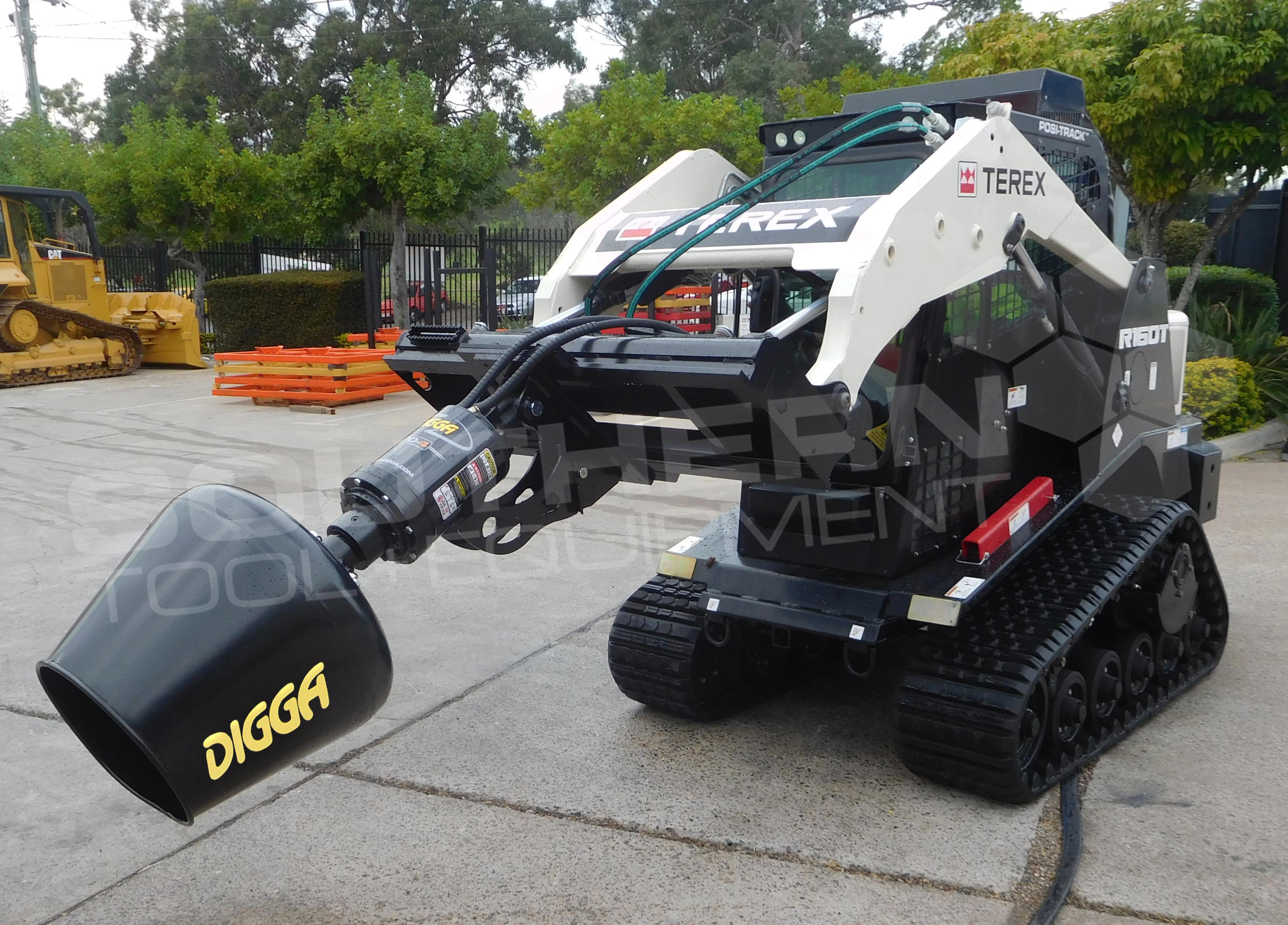 DIGGA Skid Steer Cement Mixer Bowl