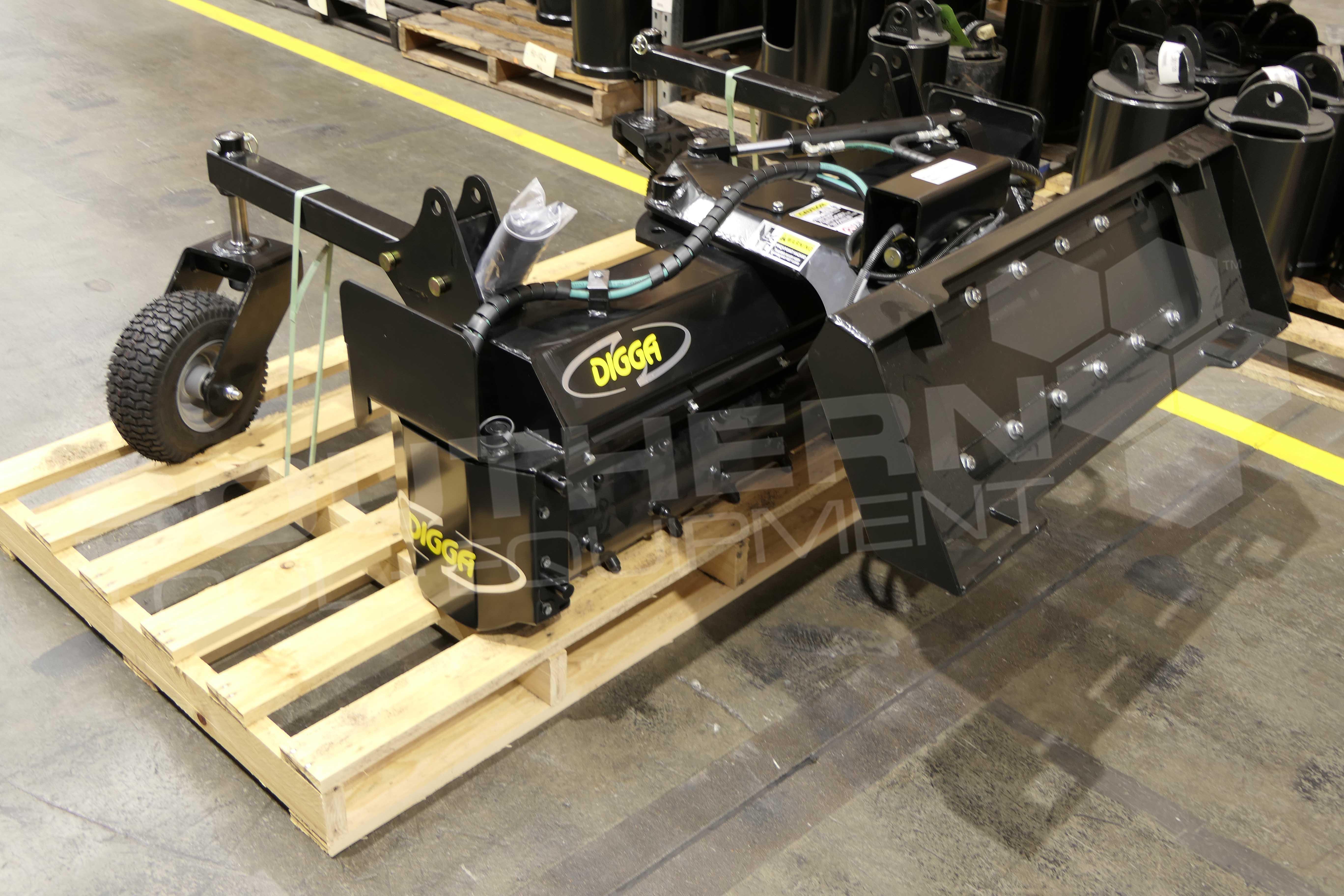 Digga 1219mm Mini Loader Power Rake Southern Tool