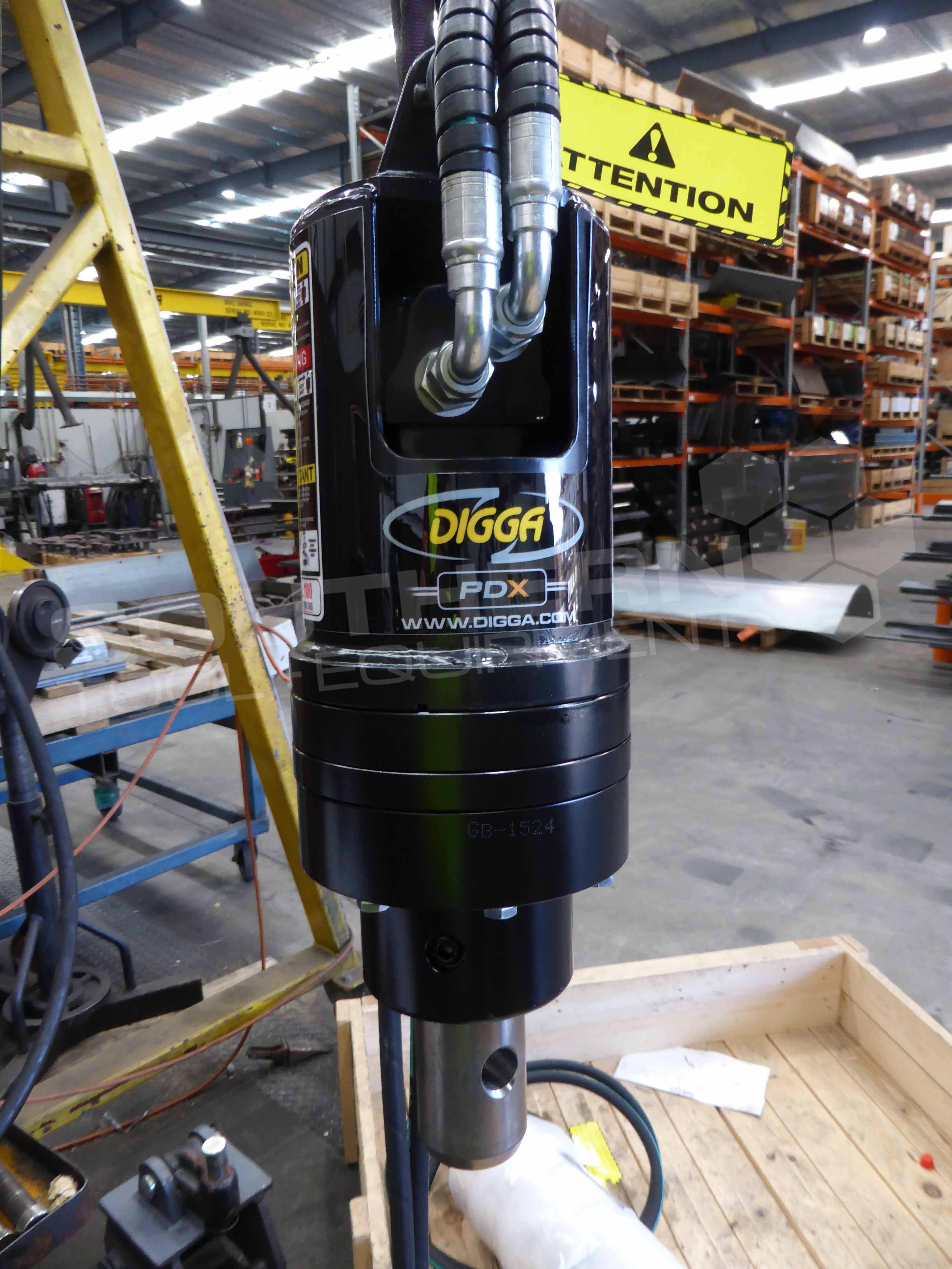 Digga Pdx Excavator Auger Drive Unit Southern Tool