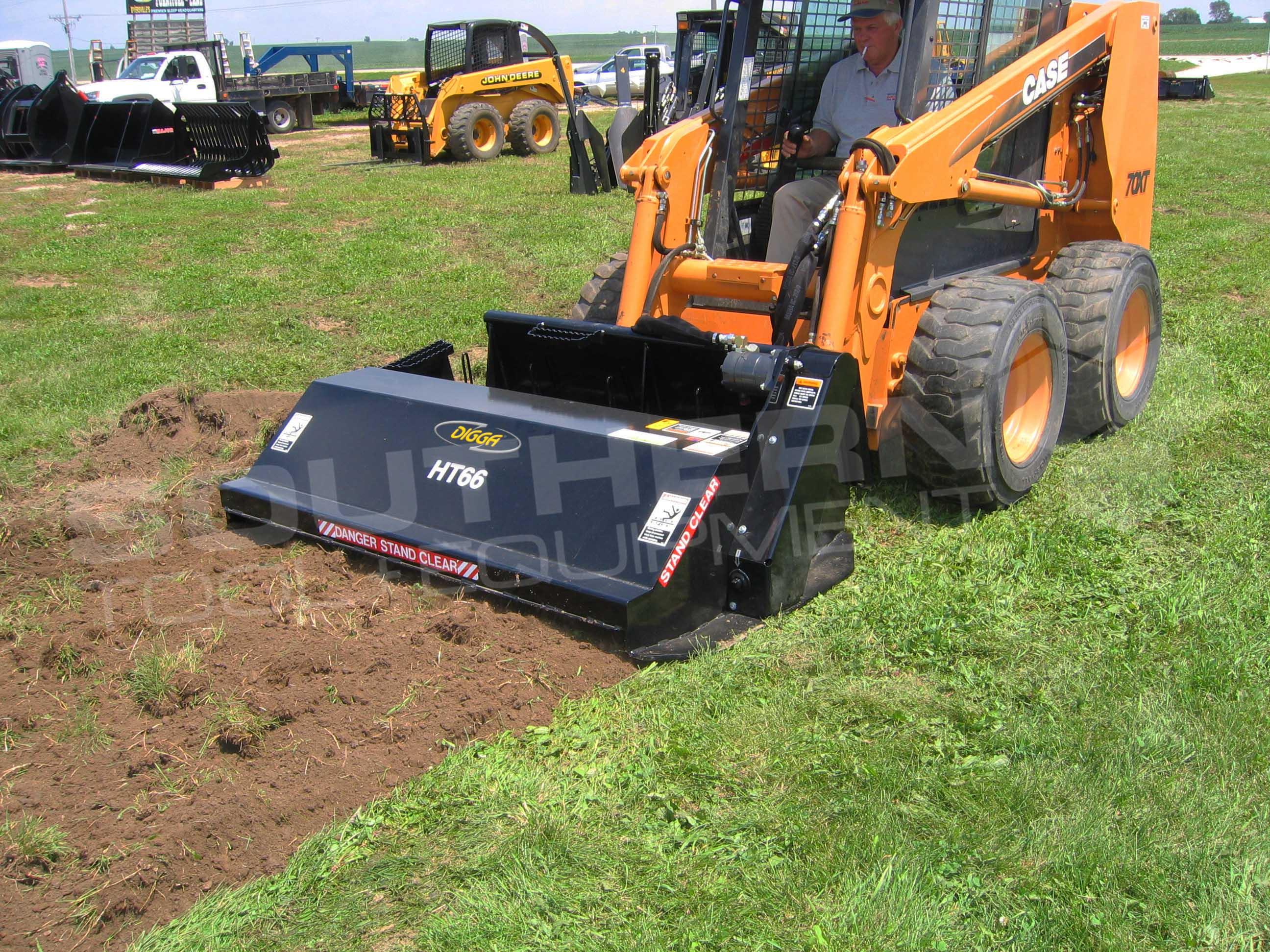 Digga Skid Steer Rotary Tiller Southern Tool Equipment
